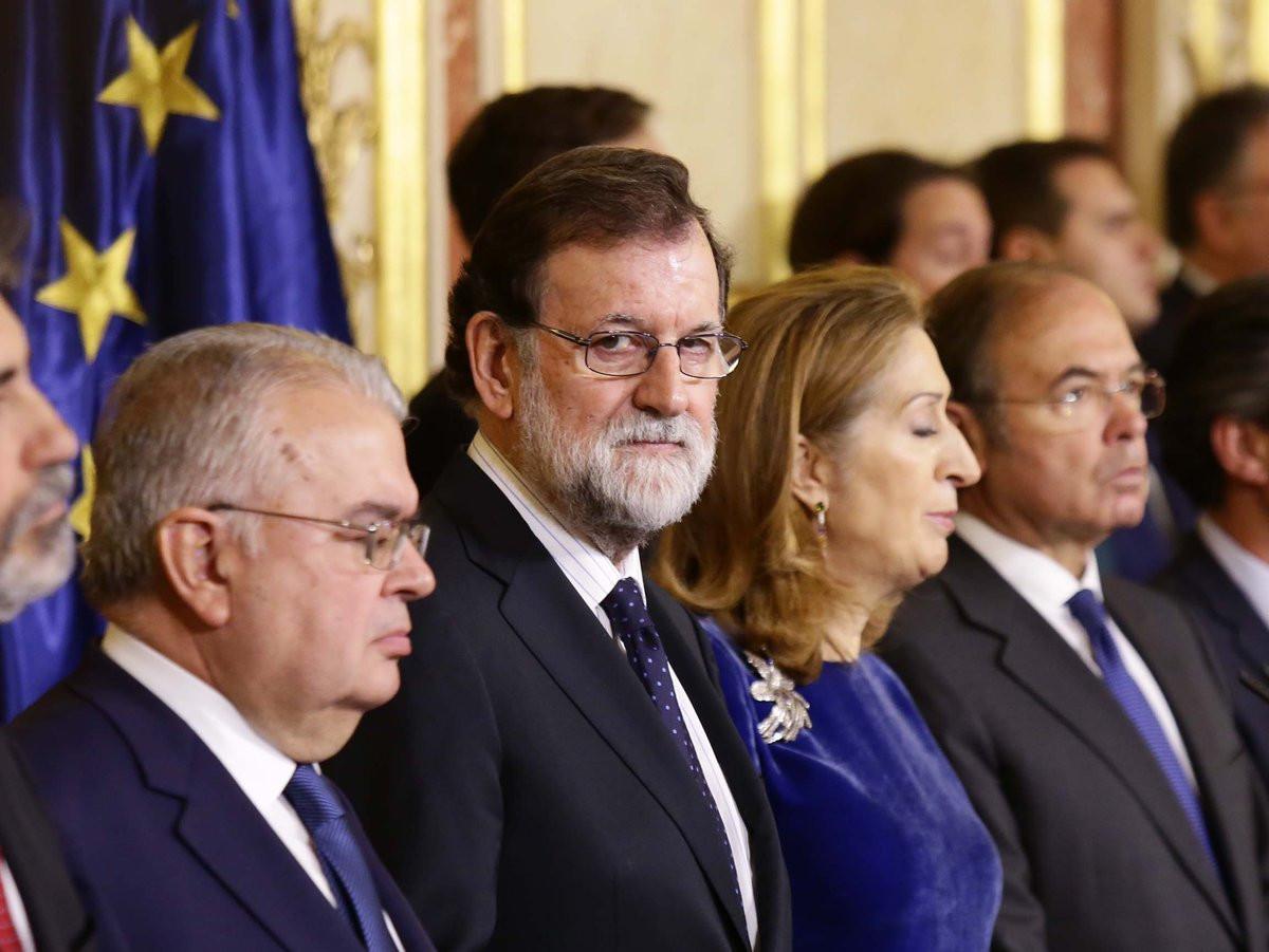 Mariano Rajoy participa en los actos del du00eda de la Constituciu00f3n