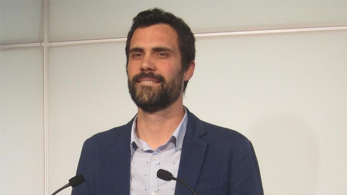 Roger Torrent, nuevo president del Parlament de Catalunya
