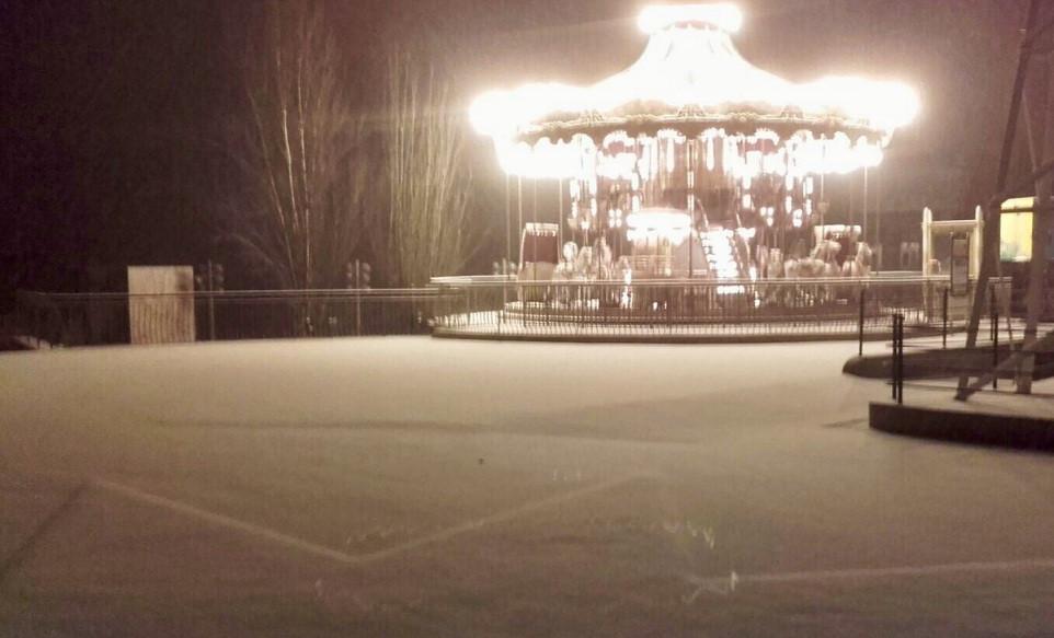 Nieve parque tibidavo