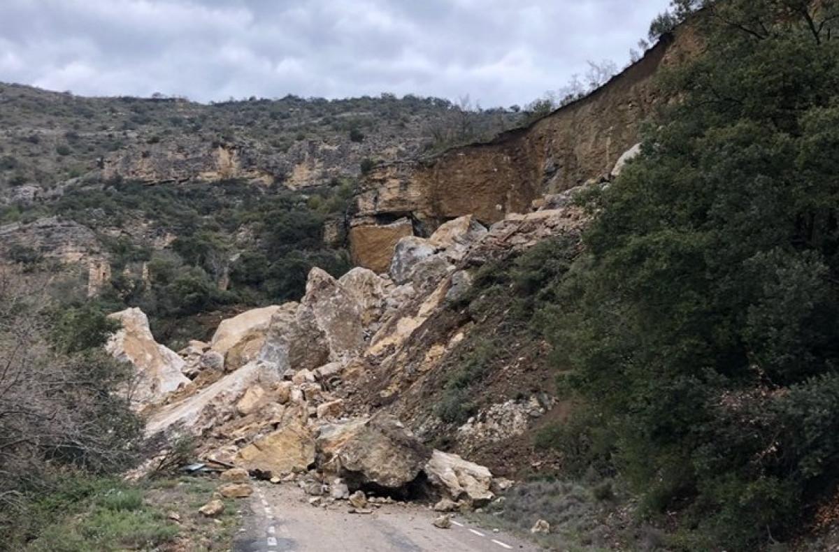 Castell de mur desprendimiento 16042018