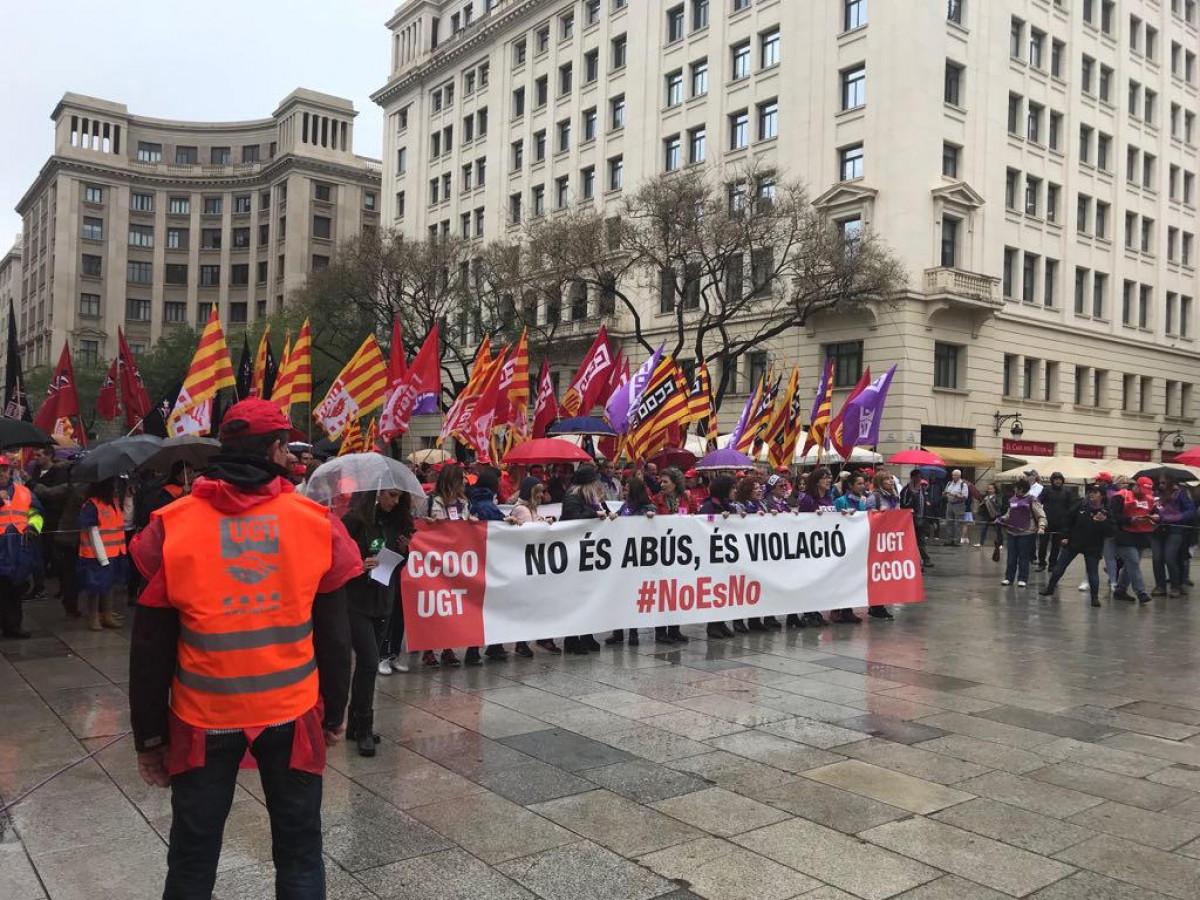 Manifestaciu00f3n 1 de mayo 2018 Barcelona