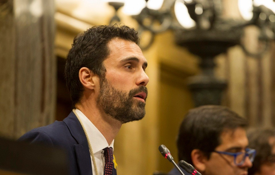 Roger torrent president parlament erc