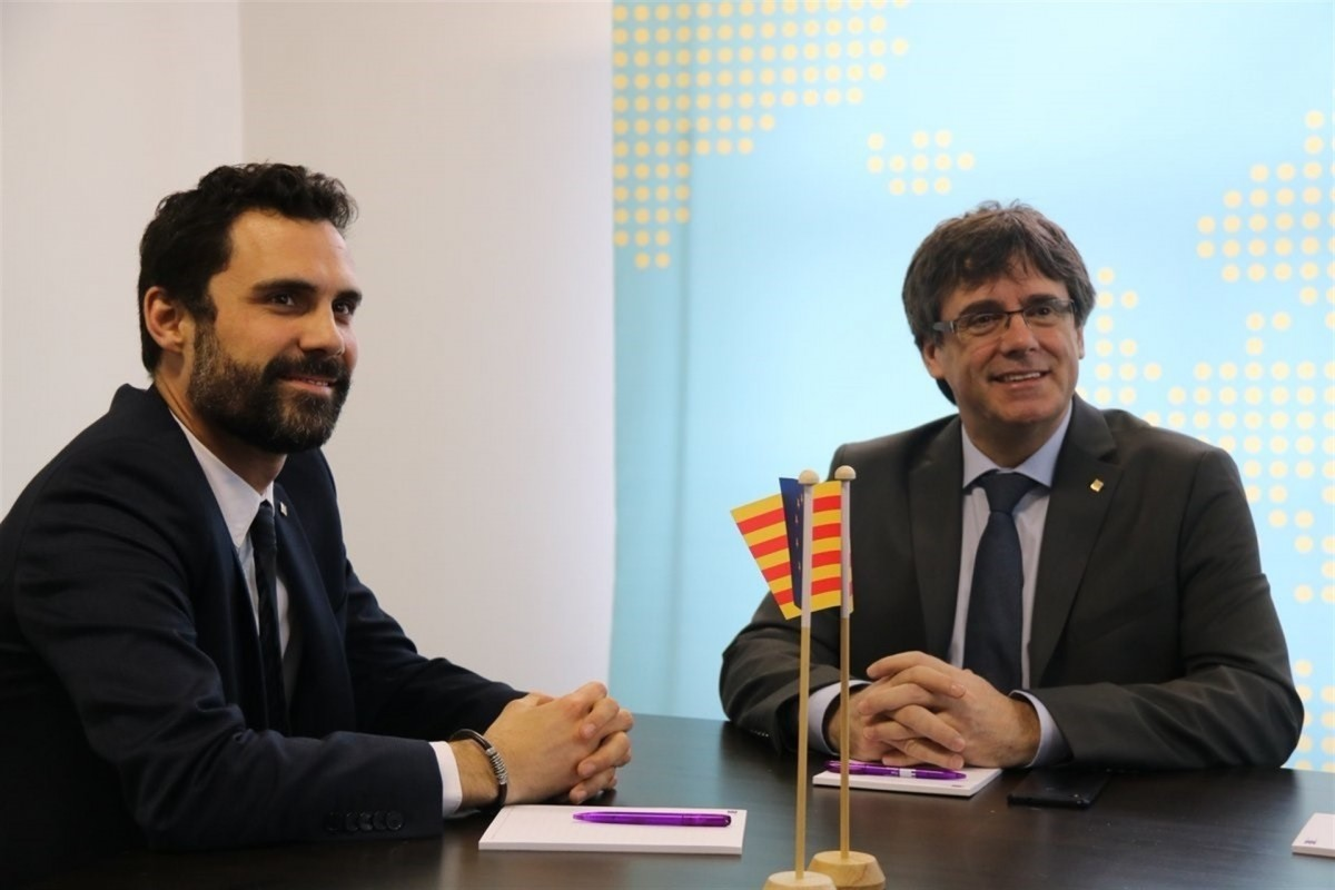 Torrent i Puigdemont a brussel·les