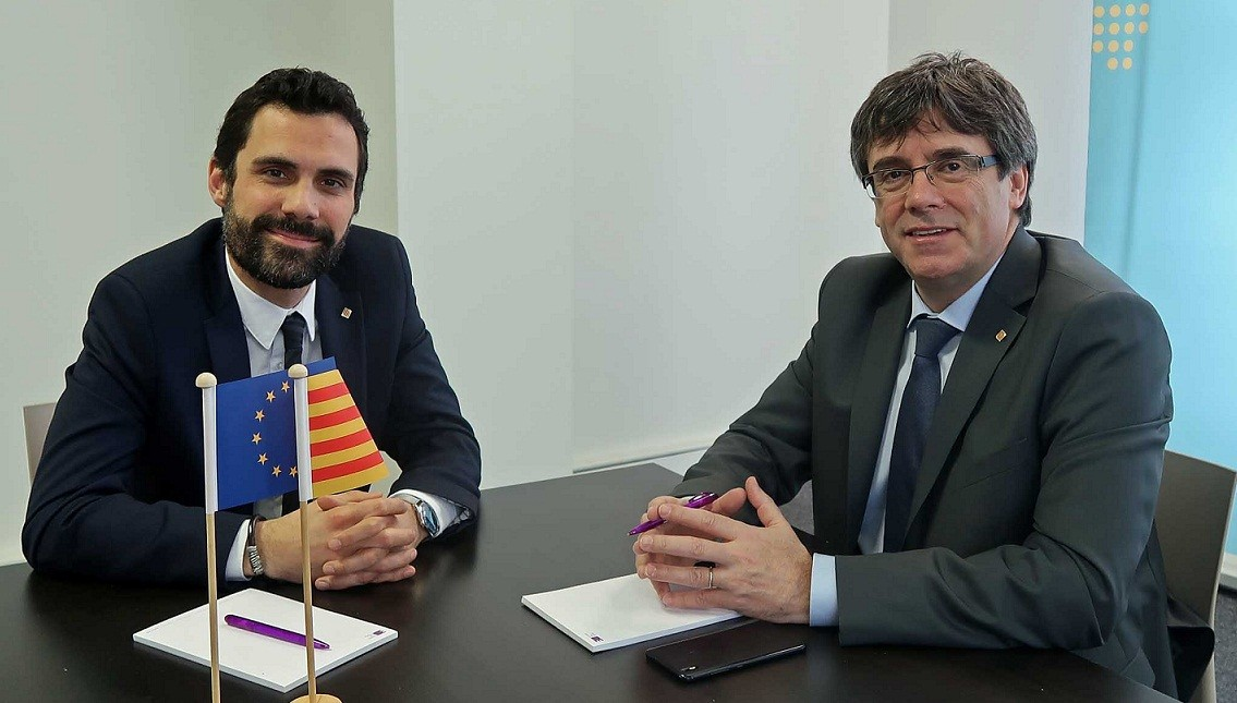 Torrent Puigdemont brussel·les