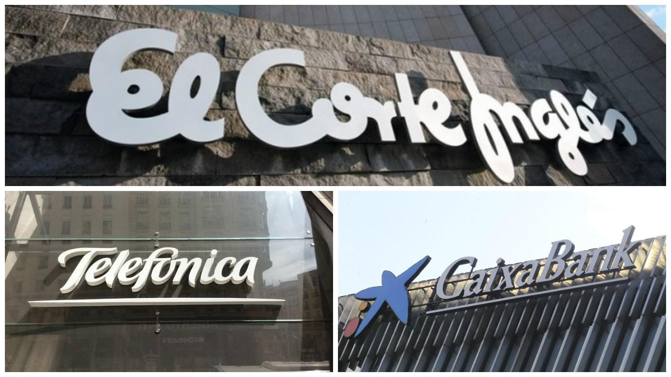 La Caixa, Telefónica i El Corte Inglés, entre les empreses ...
