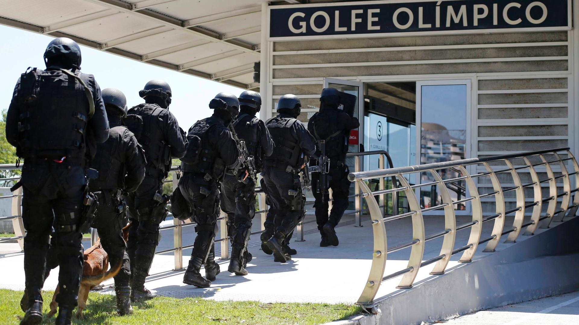 Rio 2016 seguridad