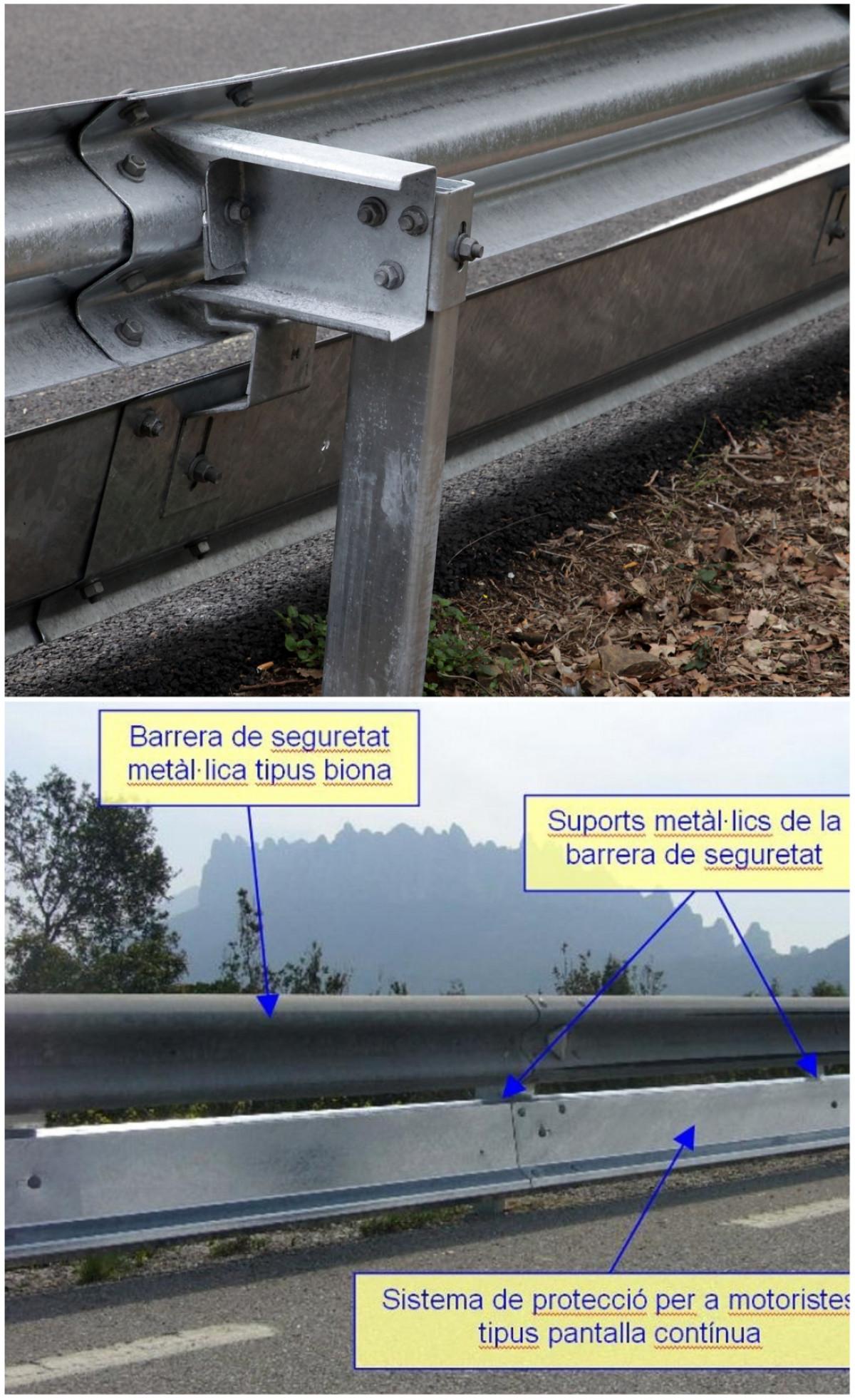 (bis) detalls de barrera de seguretat i SPM Diputaciu00f3 de Barcelona