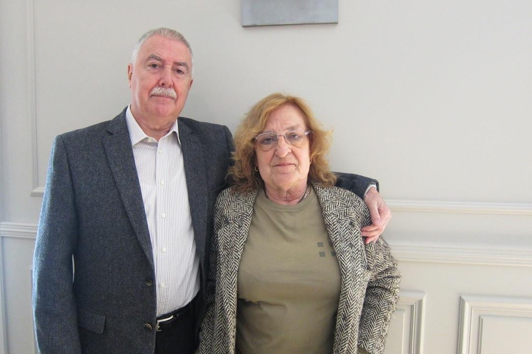 Narcu00eds Garolera y Marta Pessarrodona