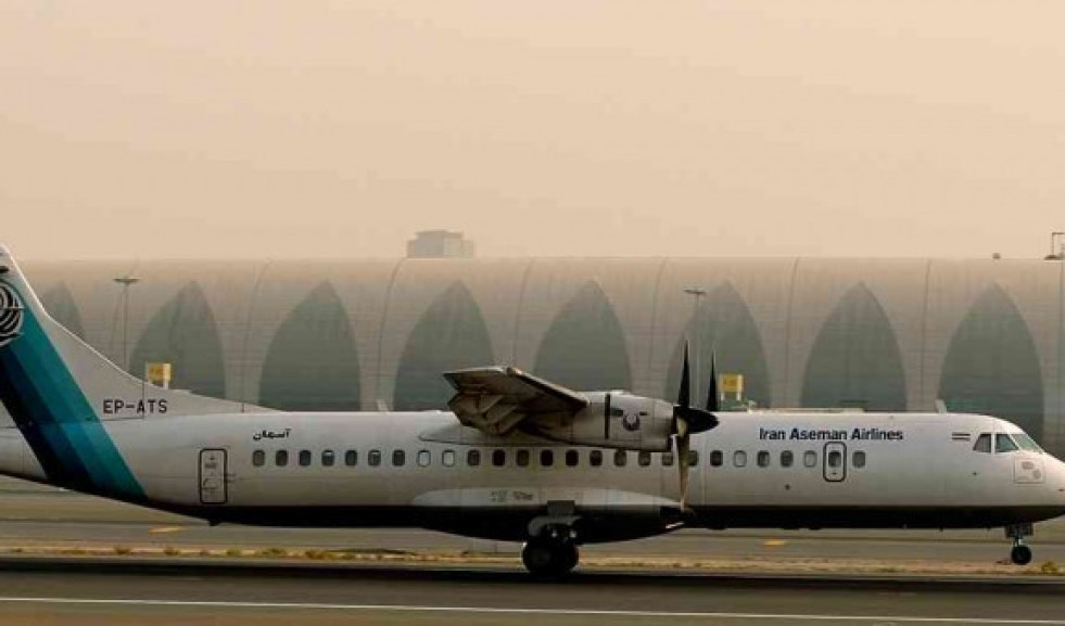 Avion accidente iran afp 1