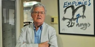 El editor Xavier Folch