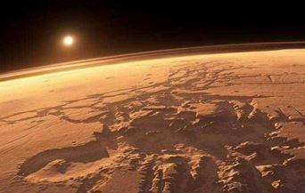 Resultat d'imatges de coet al planeta mart