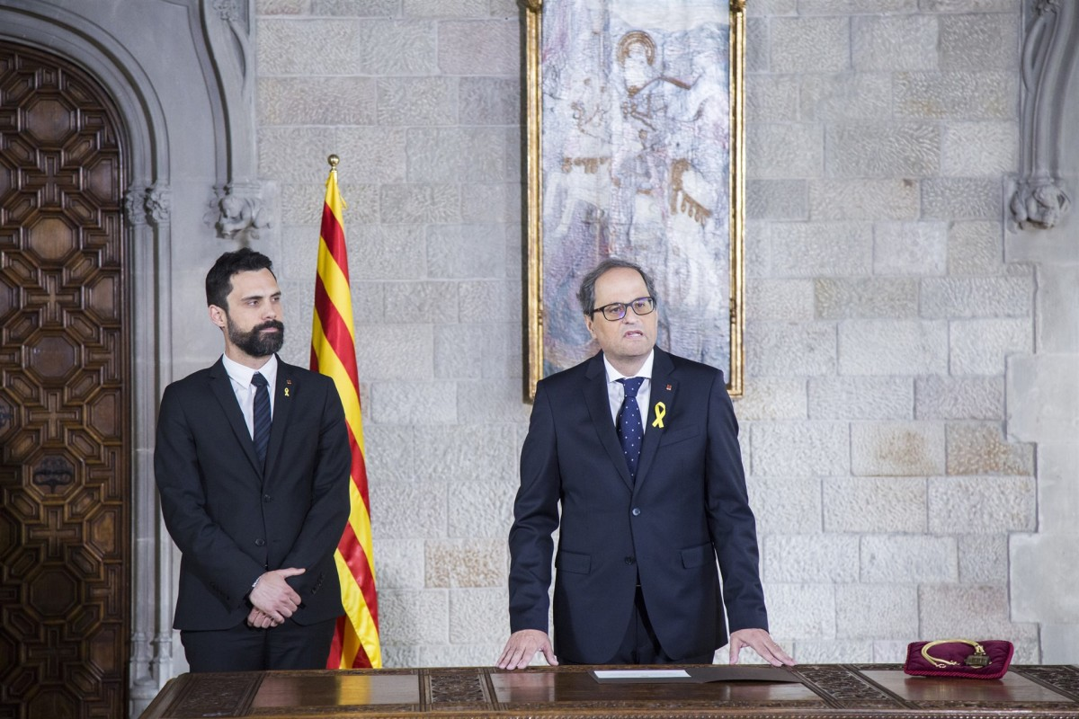 Quim torra roger torrent presa de possessió ep