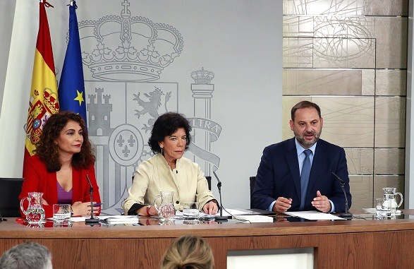 Isabel Celaá abalos consell ministres 13072018