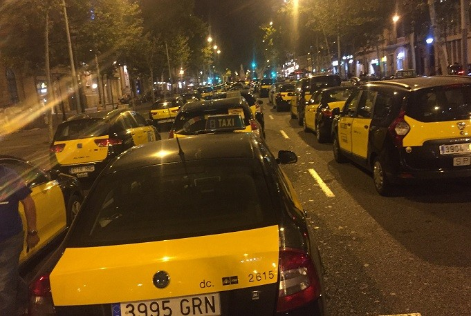 Taxis barcelona nit