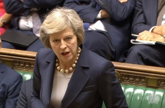 Theresa May house of commons 16042018 febrer 1