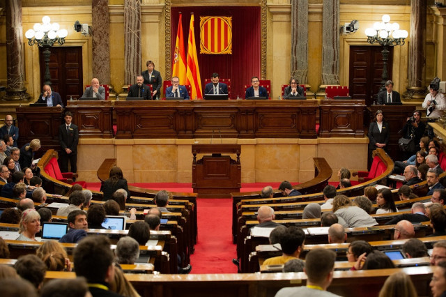 Ple de Parlament abril 2019 1