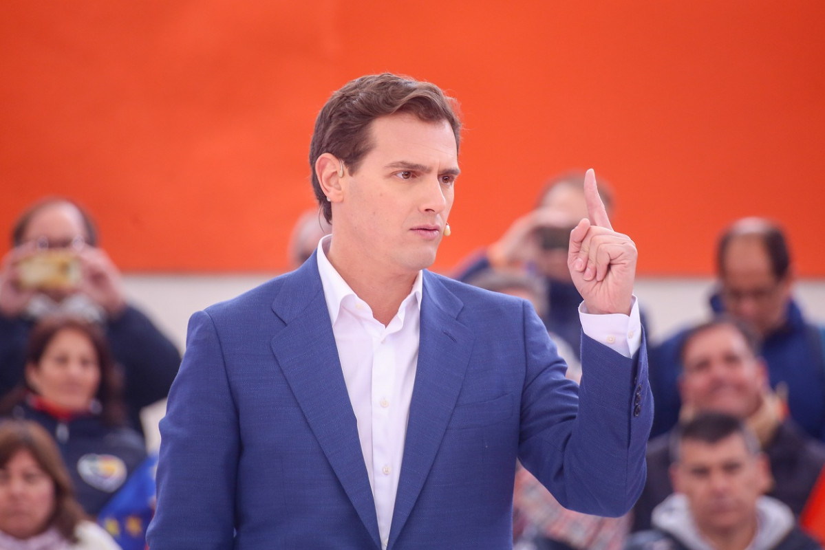Albert rivera míting imatge1