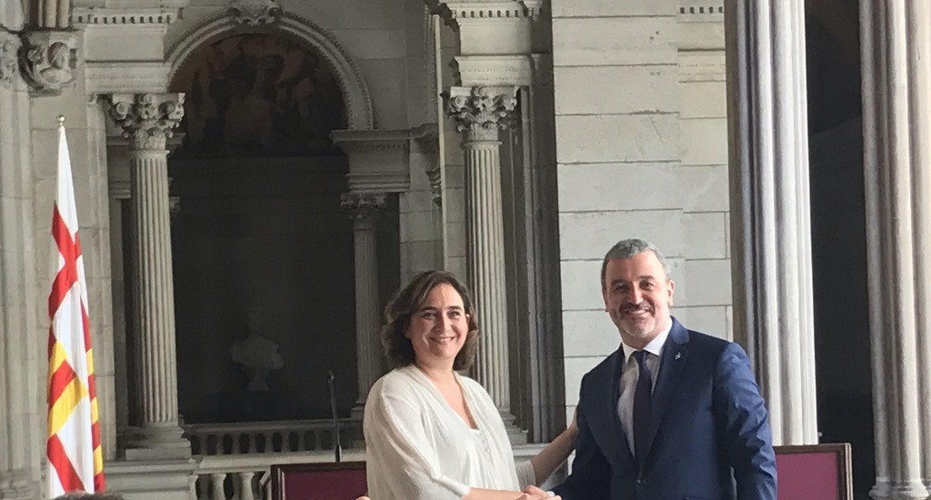 Colau i Collboni acorden un govern fort i estable a Barcelona amb sis tinences repartides