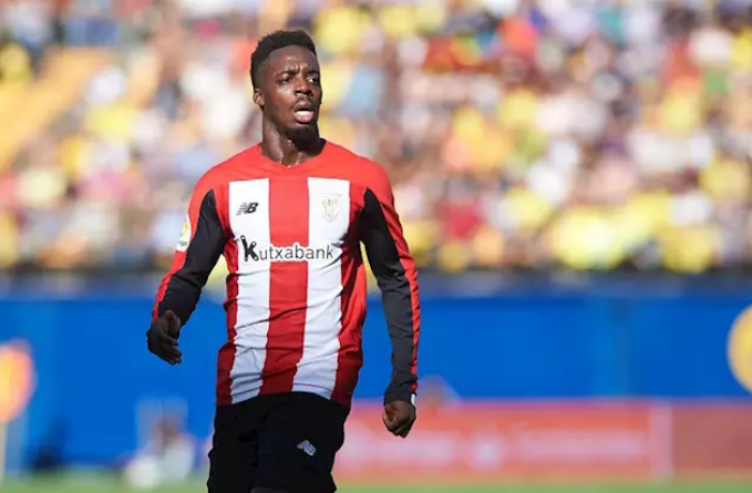 El davanter de l'Athletic Club Iu00f1aki Williams