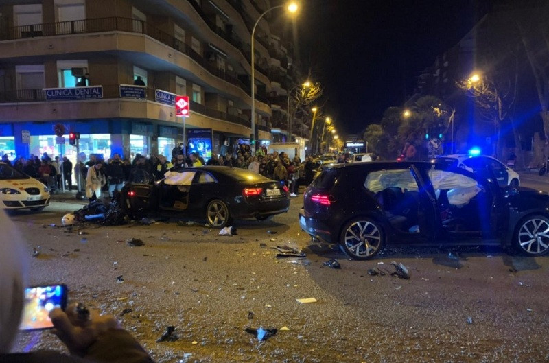 accident Badalona