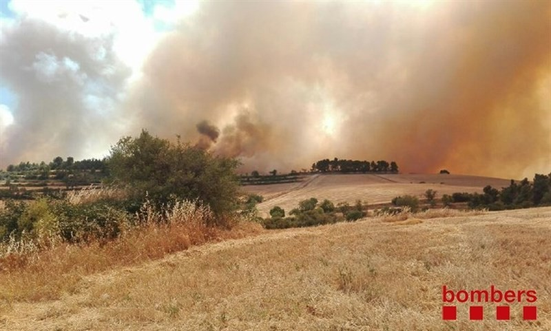 Incendi forestal Rocallaura